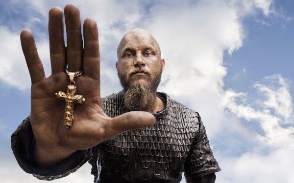 TV Show Vikings Ragnar Lothbrok Crucifix HD Wallpaper | Background Image