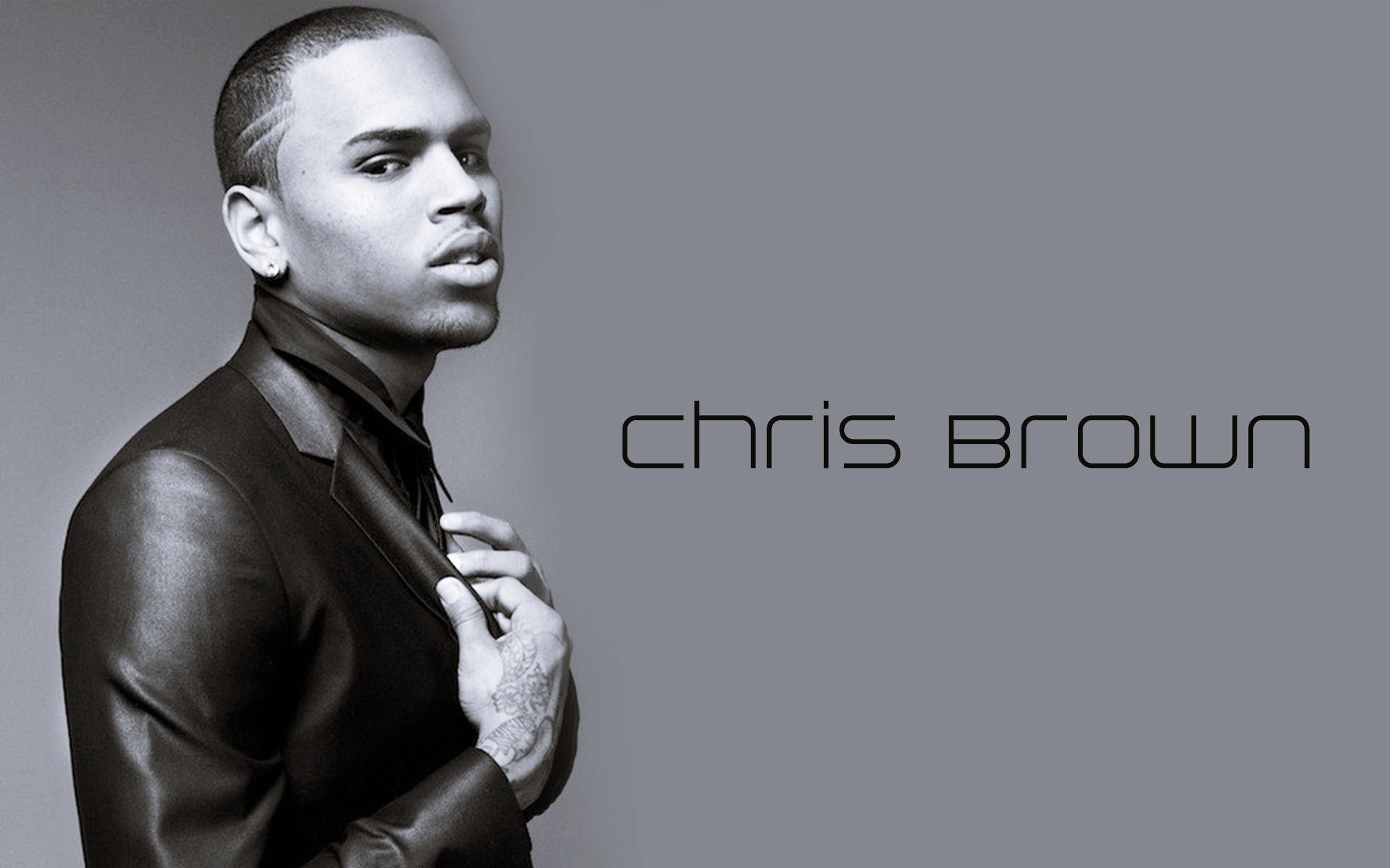 Chris Brown Full HD Wallpaper And Background Image