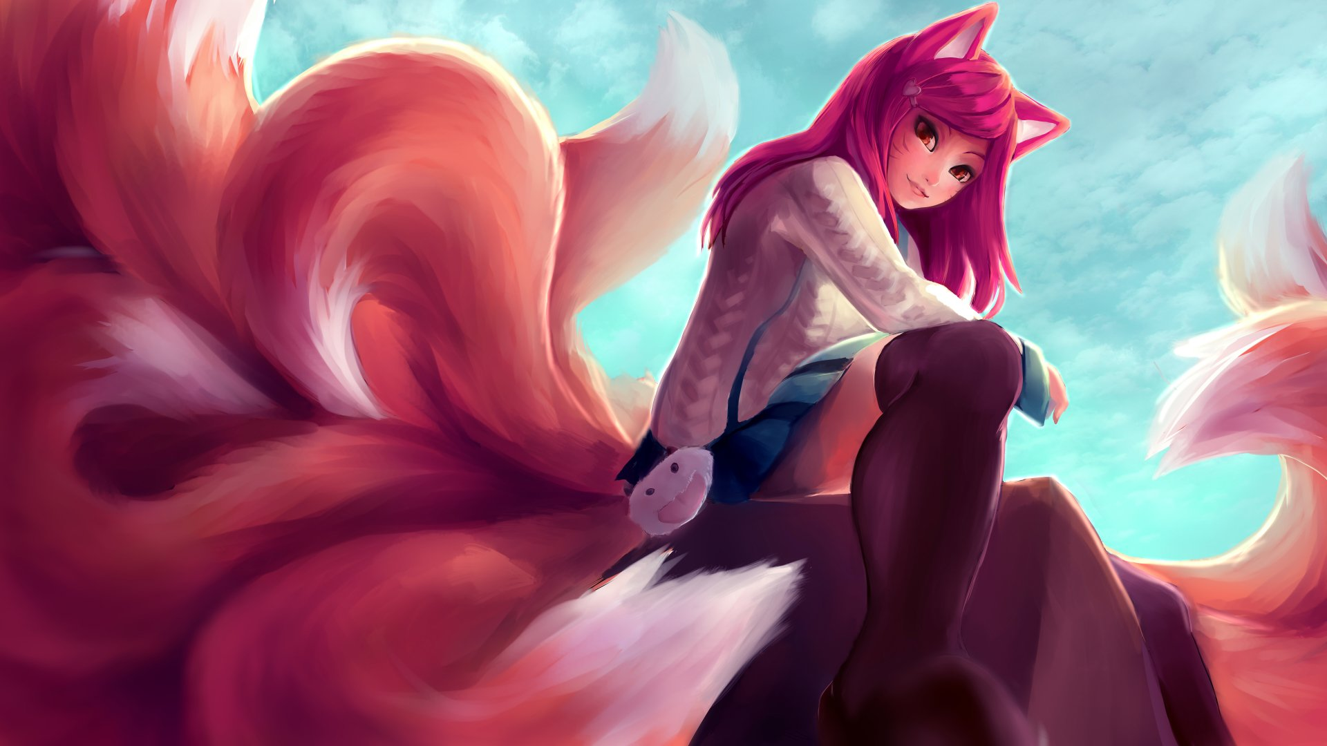 Video Game - League Of Legends  Ahri (League Of Legends) Wallpaper