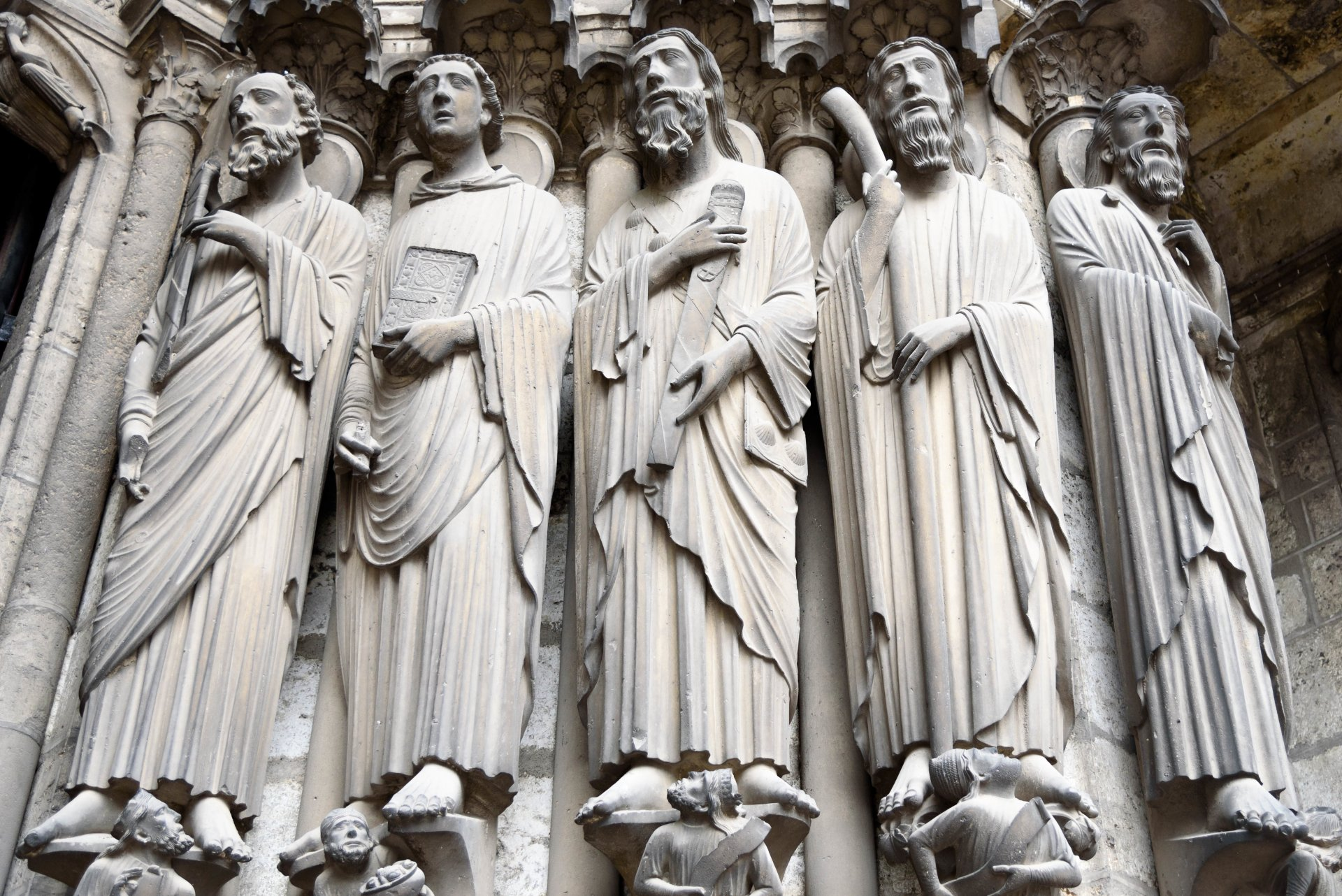 Man Made - Statue  Man Made St. Paul St. John St. James St. Bartholomew Wallpaper