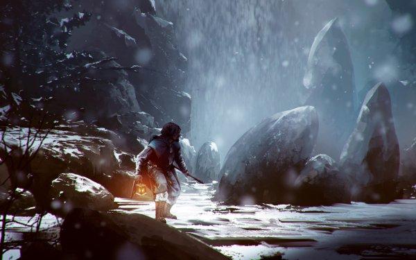 Fantasy Hunter HD Wallpaper   Background Image