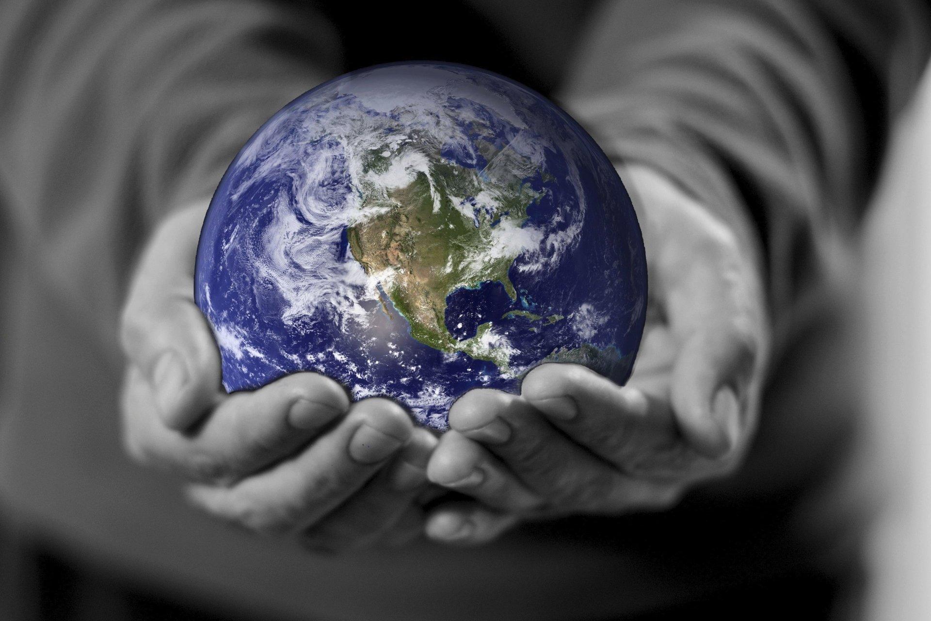 节日 - 世界地球日  壁纸