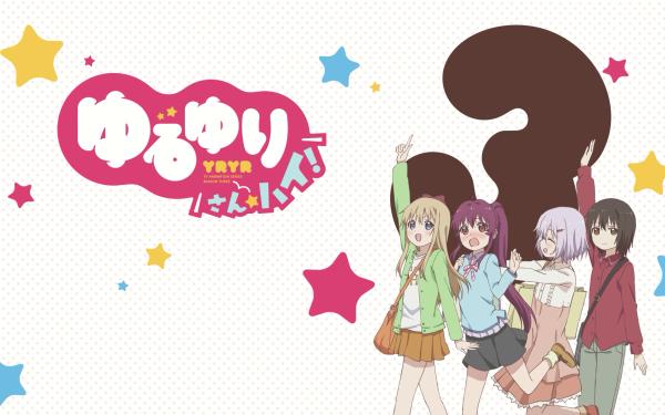 Anime Yuru Yuri Chinatsu Yoshikawa Akari Akaza Yui Funami Kyōko Toshinō HD Wallpaper | Background Image