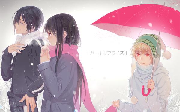 Anime Noragami Hiyori Iki Yato Yukine HD Wallpaper | Background Image