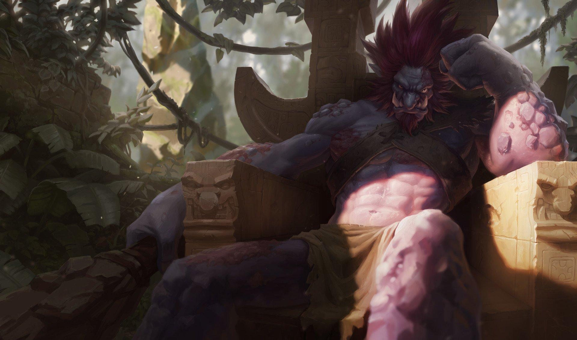 Vídeo Game - League Of Legends  Trundle (League Of Legends) Papel de Parede