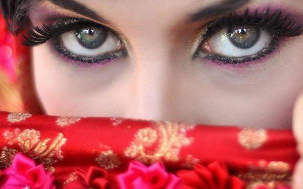 Women Eye Grey Eyes Gray Close-Up HD Wallpaper | Background Image