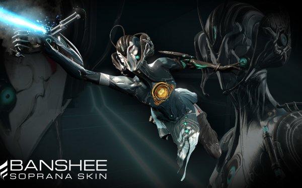 Video Game Warframe Woman Weapon Banshee Woman Warrior HD Wallpaper | Background Image