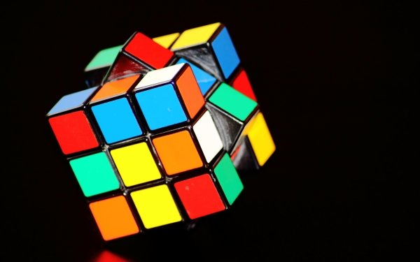 Spel Rubik's Cube Colorful Cube Färger HD Wallpaper | Background Image