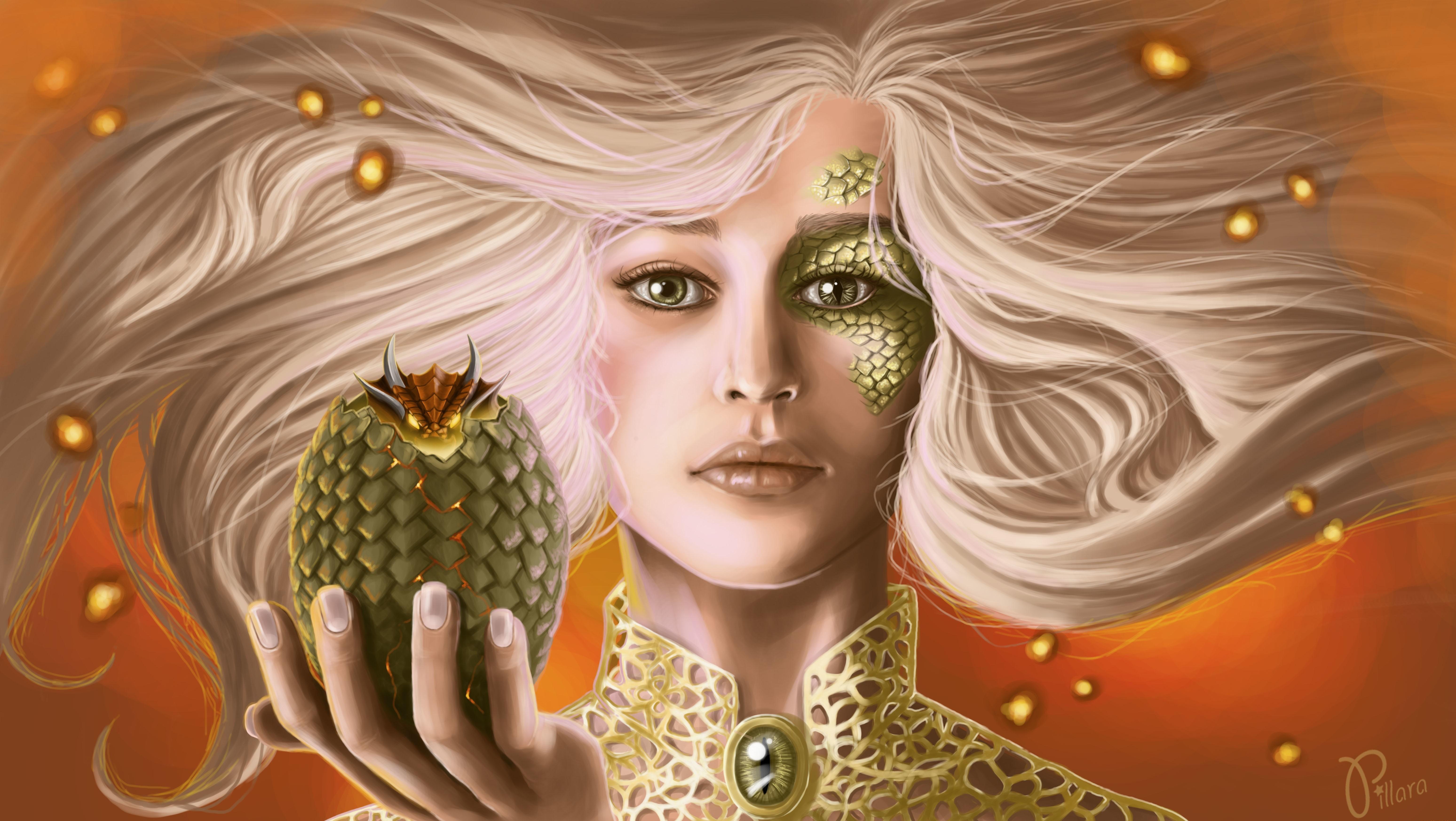 冰与火之歌高清壁纸_Fantasy Girl 5k Retina Ultra 高清壁纸   桌面背景   6192x3491   ID:697674 ...