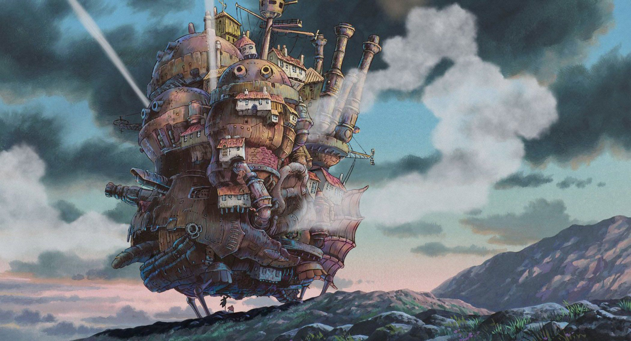 62 Howl S Moving Castle Hd Wallpapers Background Images