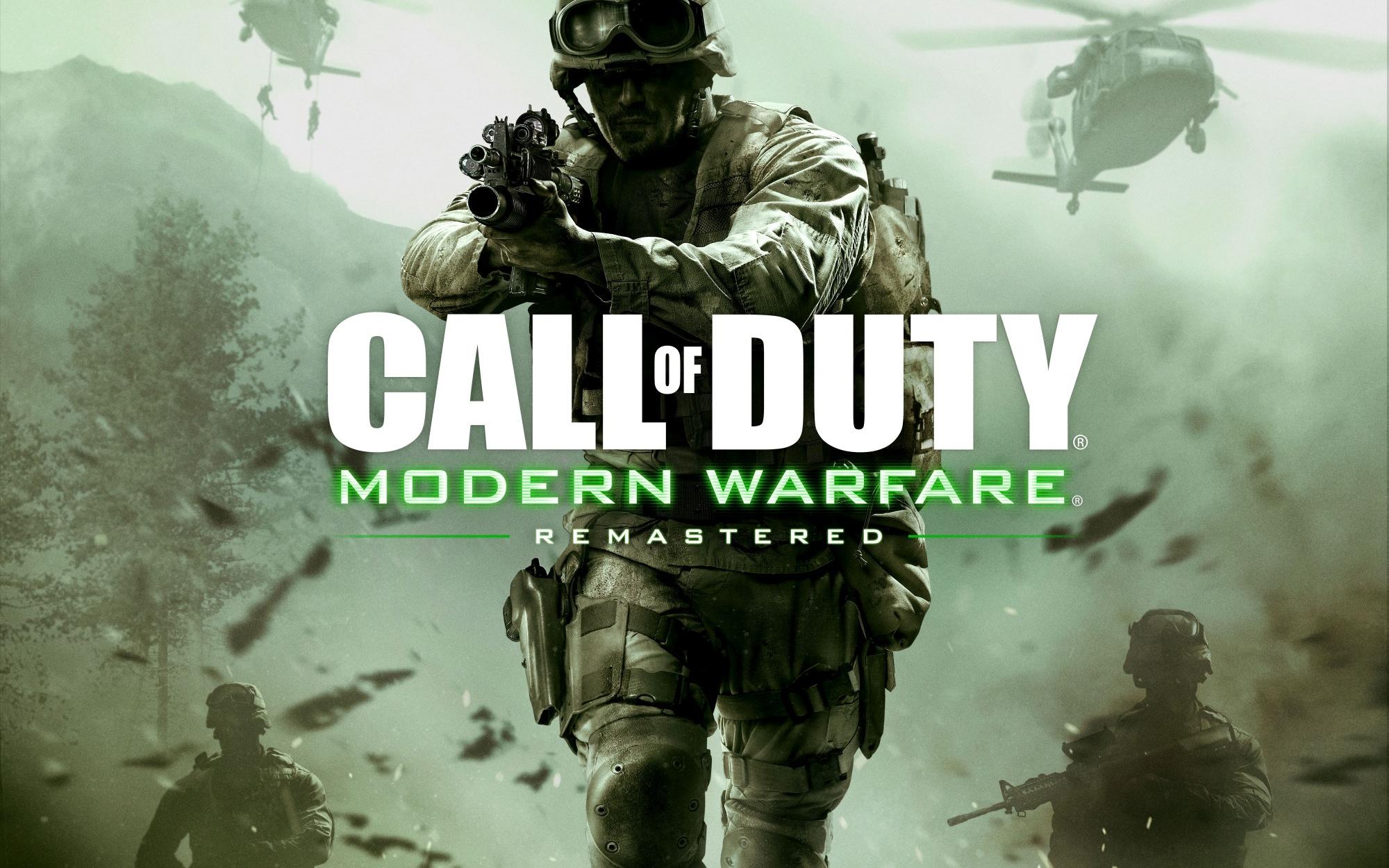 Call Of Duty Modern Warfare Remastered Fondo De Pantalla Hd