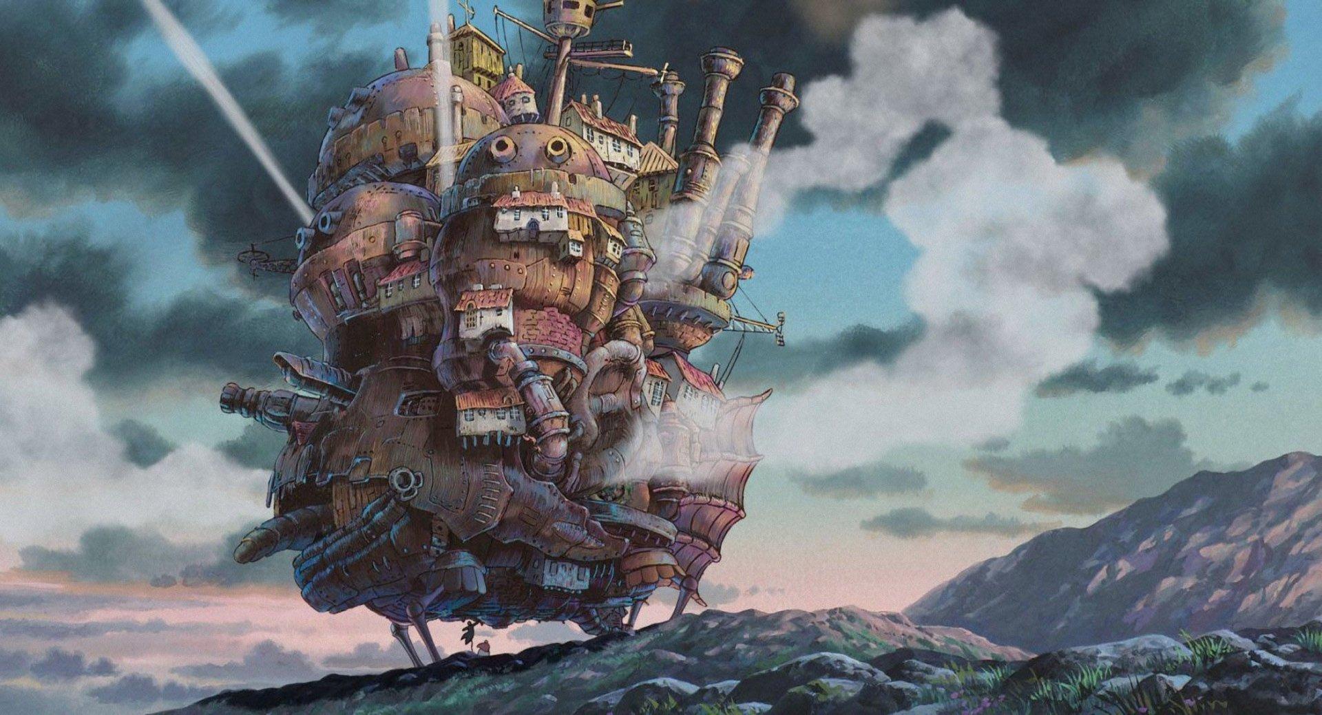 Películas - El castillo ambulante  Fondo de Pantalla