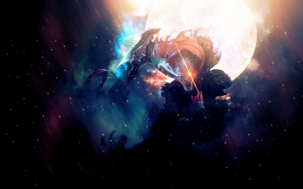 Video Game League Of Legends Rengar Space HD Wallpaper | Background Image
