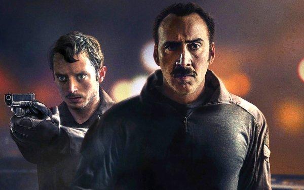 Movie The Trust Nicolas Cage Elijah Wood HD Wallpaper | Background Image