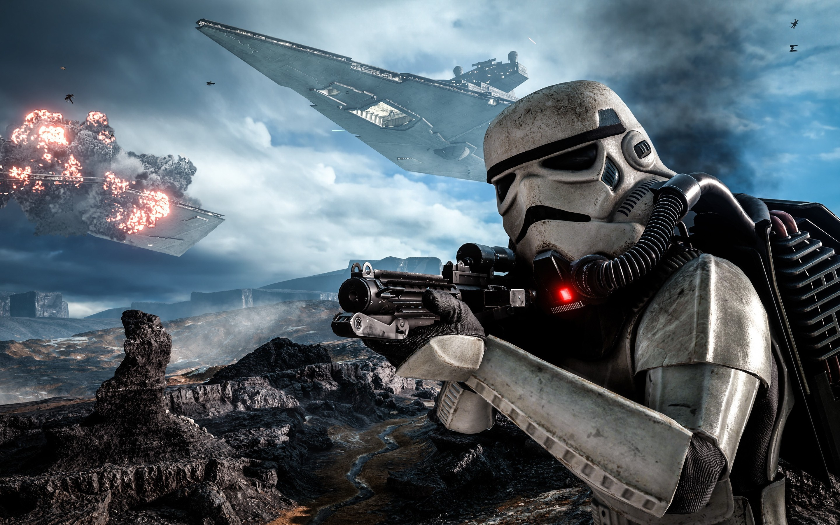 36 Star Wars Battlefront Hd Wallpapers Background Images Wallpaper Abyss