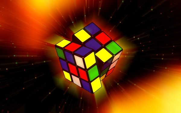 Spel Rubik's Cube Färger Colorful HD Wallpaper | Background Image