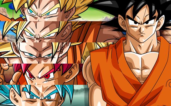 Anime Dragon Ball Z Dragon Ball Goku Super Saiyan HD Wallpaper | Background Image