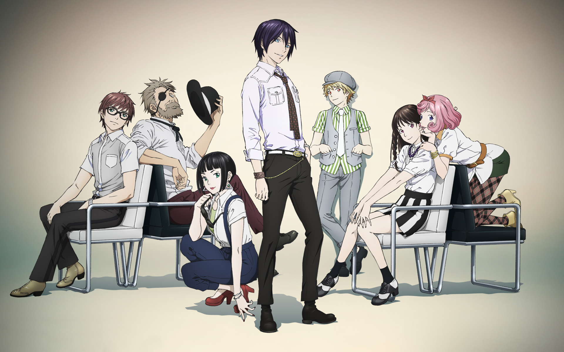 Noragami HD Wallpaper | Background Image | 1920x1200 | ID ...