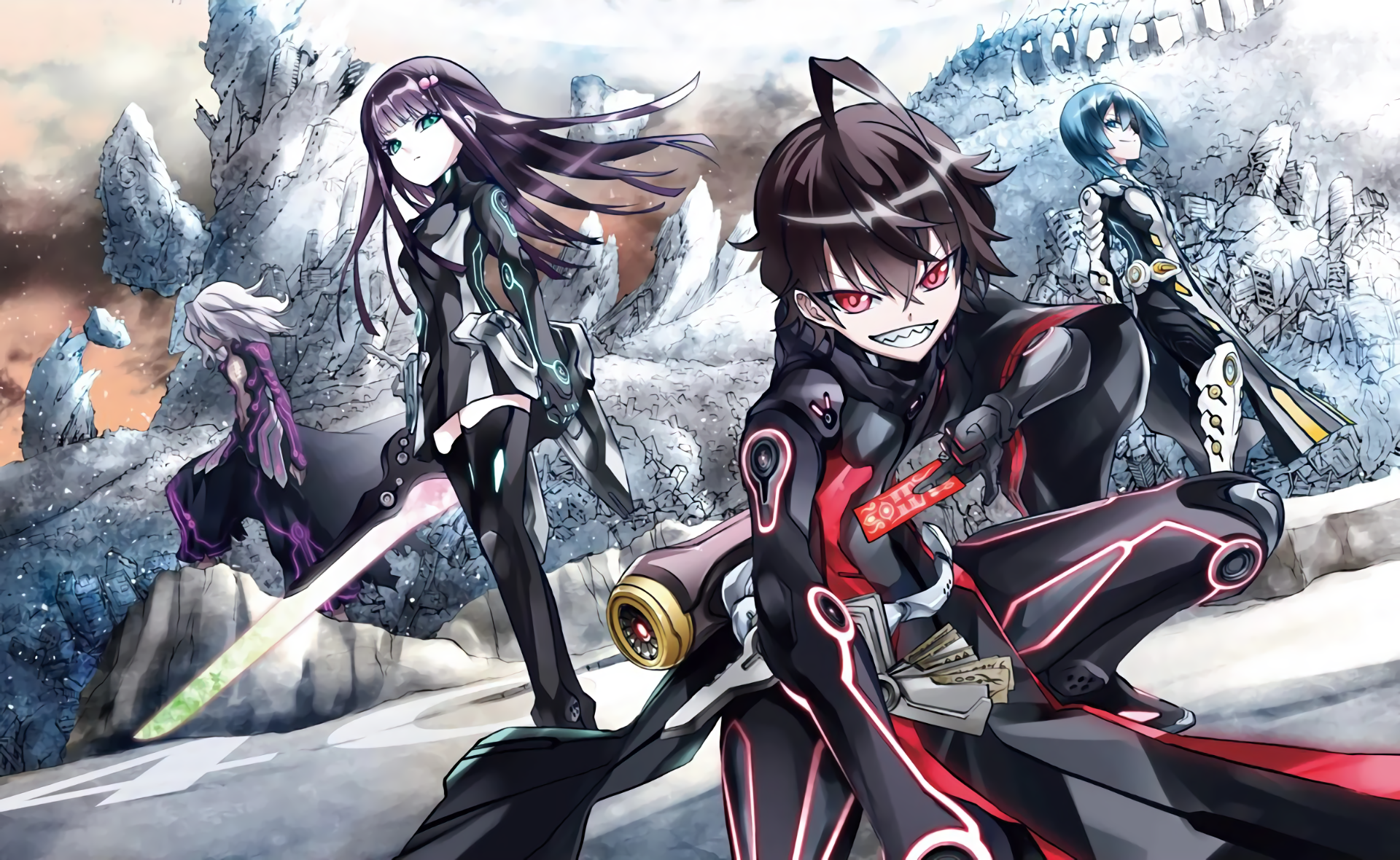 Animax Cartoon Wallpaper 36 twin star exorcists hd wallpapers | background images
