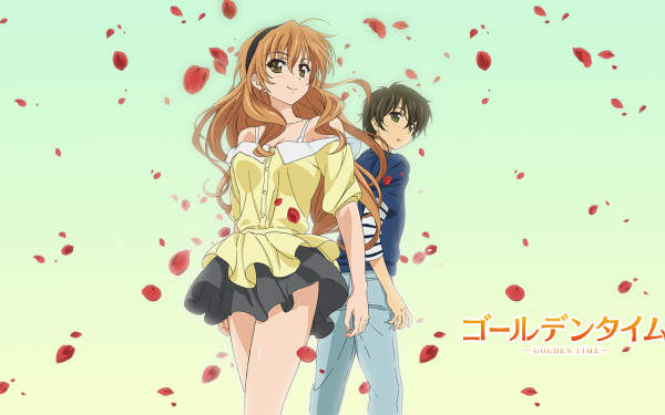 Anime Golden Time Kaga Kouko Banri Tada HD Wallpaper   Background Image