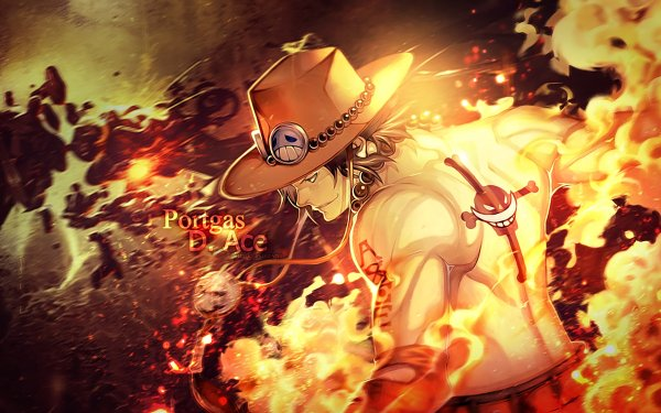 Anime One Piece Portgas D. Ace HD Wallpaper   Background Image