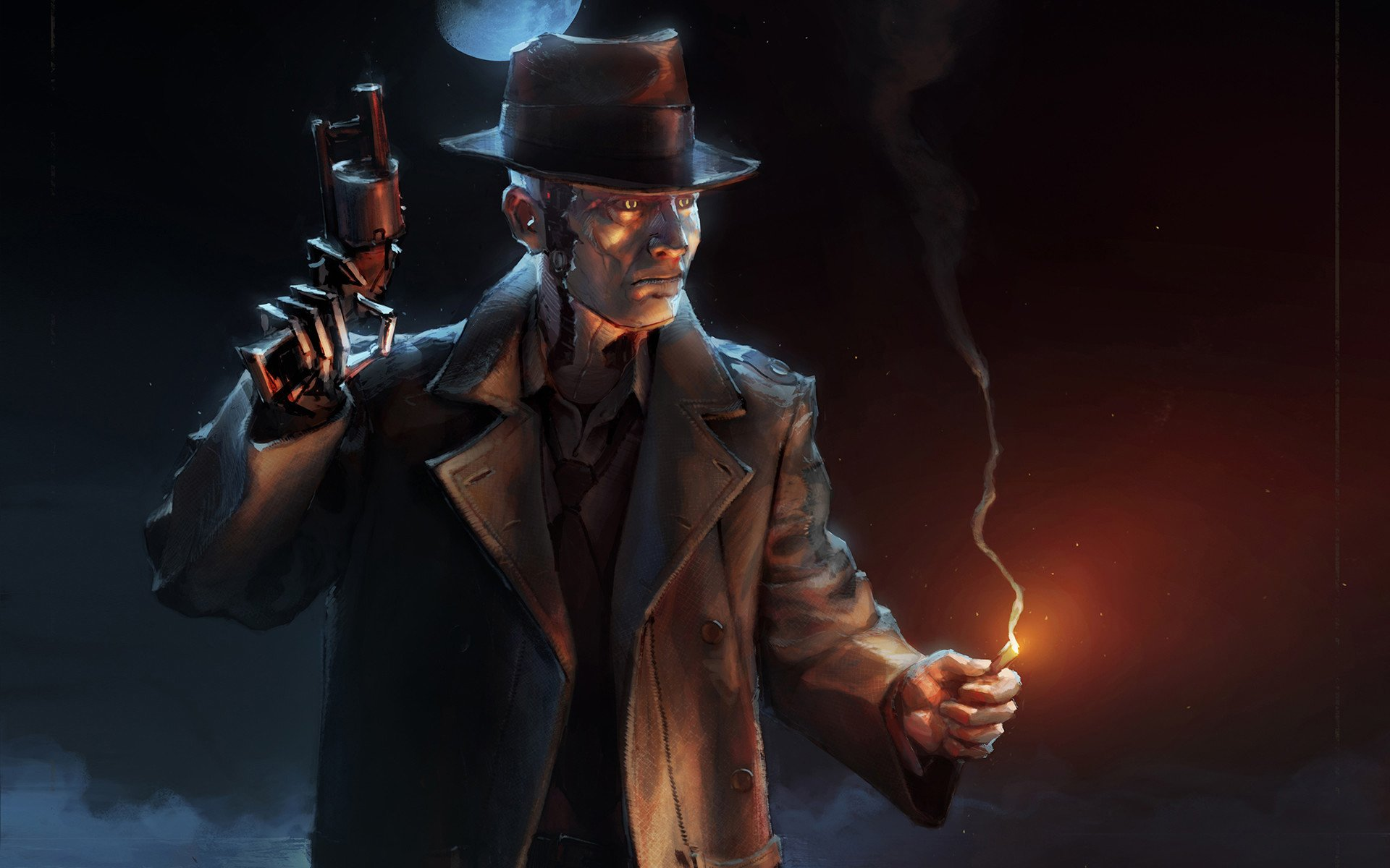 4 Nick Valentine HD Wallpapers