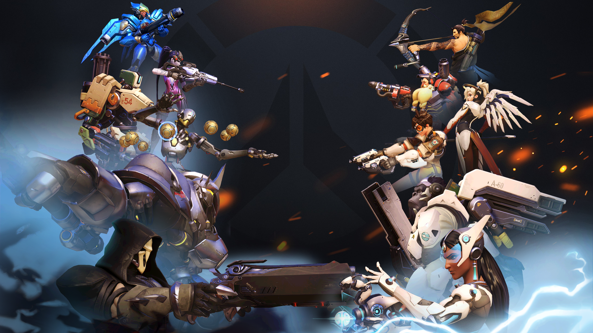 Overwatch Wallpaper Dual Monitor: 207 Widowmaker (Overwatch) HD Wallpapers