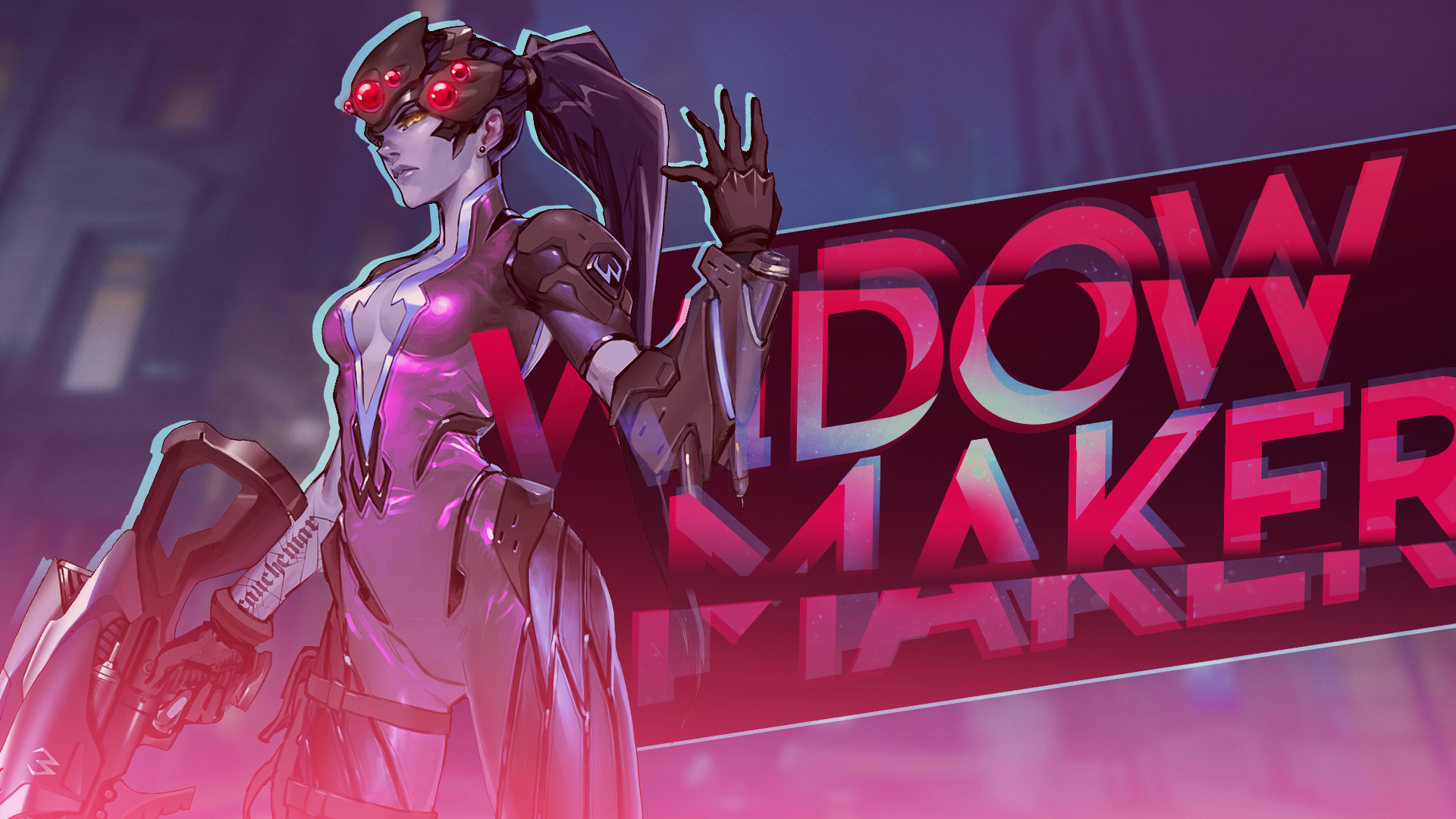 widowmaker overwatch wallpaper 1920x1080 - photo #8
