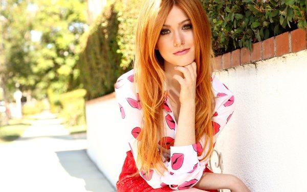 Celebrity Katherine Mcnamara Actresses United States Actress American Redhead Brown Eyes HD Wallpaper   Background Image