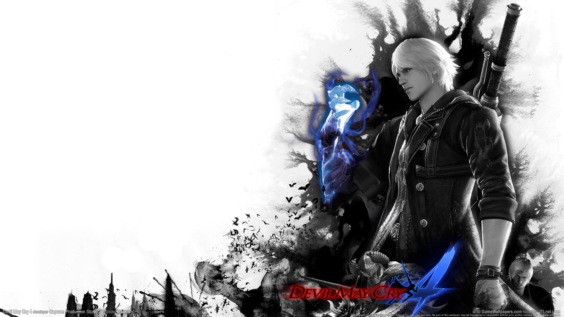 Gaming Wallpapers: Devil May Cry 4 HD Wallpaper