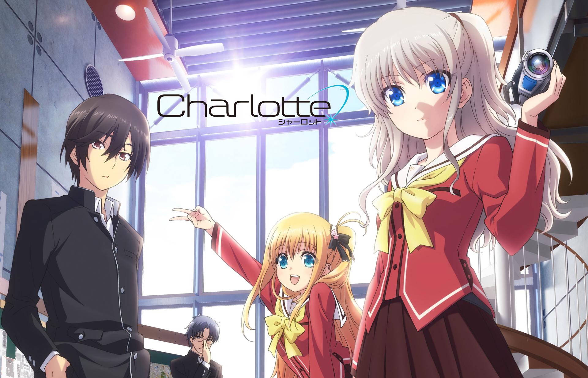 Charlotte (Anime) Main Members Fondo de pantalla HD ...