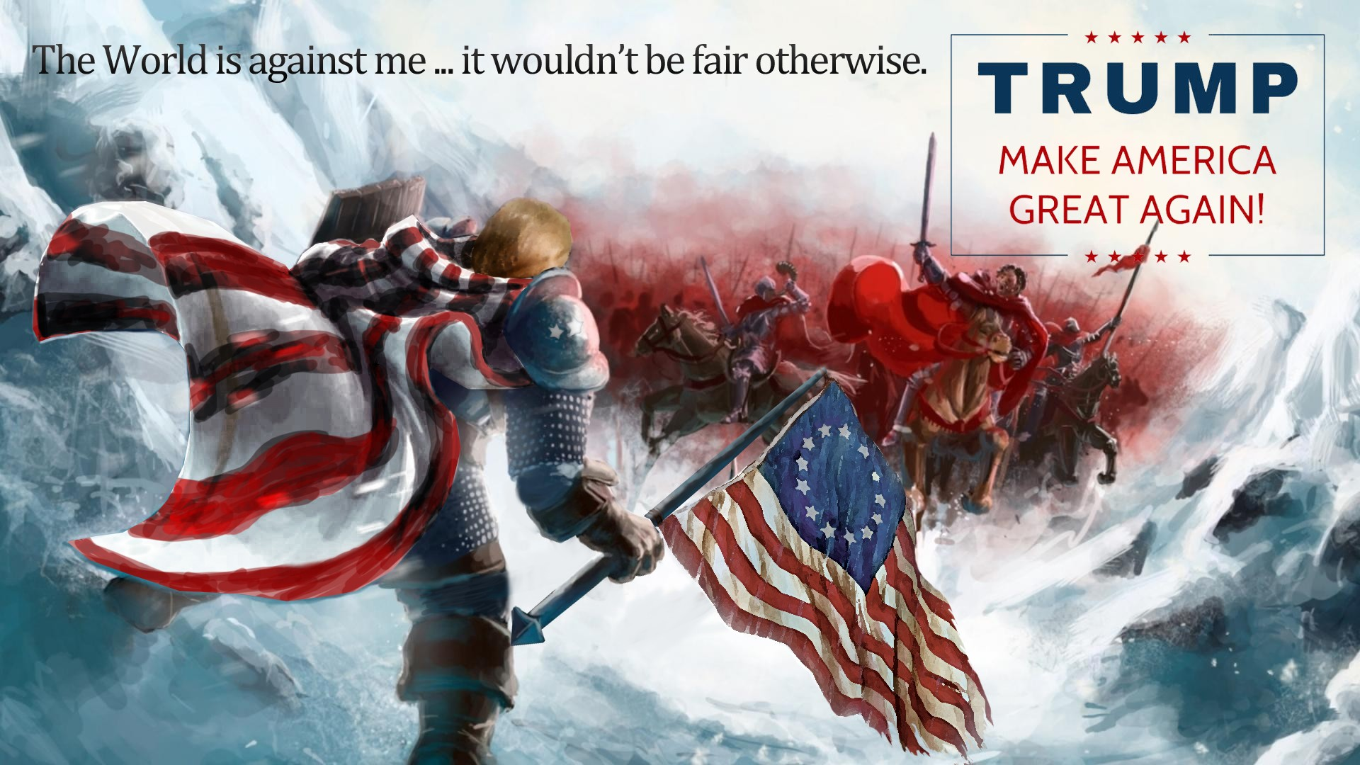Donald Trump Hd Wallpaper Background Image 1920x1080 Id 708196
