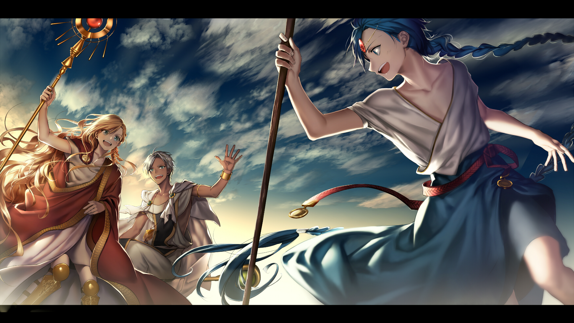 Magi: The Labyrinth Of Magic HD Wallpaper