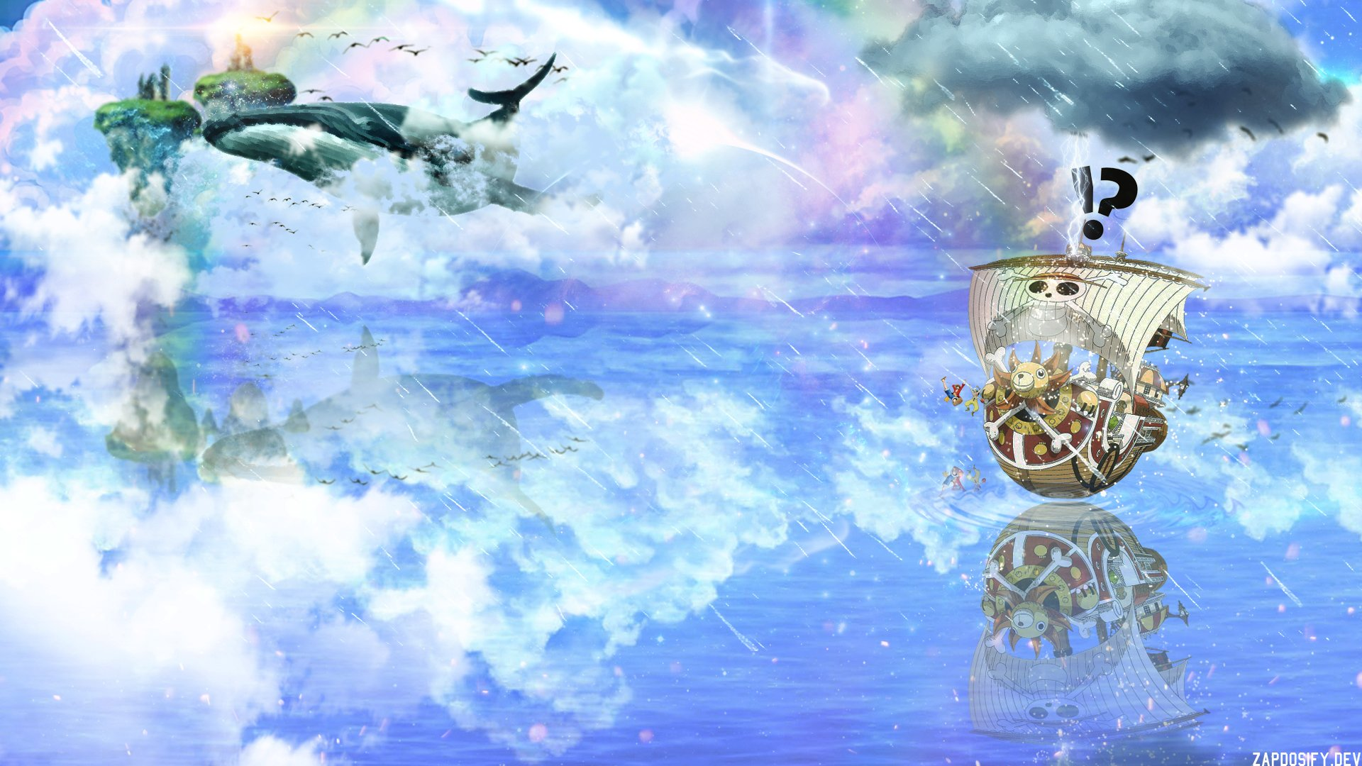 One Piece Thousand Sunny Wallpaper Hd