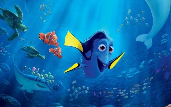 Movie Finding Dory Dory Nemo Crush Mr. Ray Marlin HD Wallpaper   Background Image