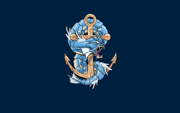 Video Game Pokémon Gyarados HD Wallpaper | Background Image
