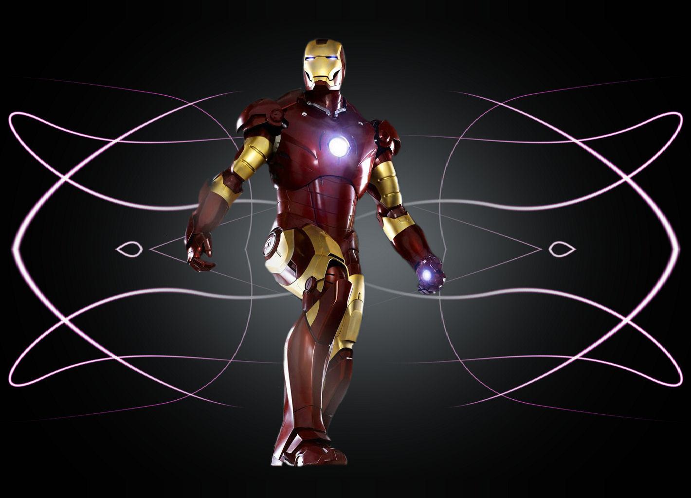 Iron man wallpaper and background image 1420x1024 id 71446 for Sfondi iron man