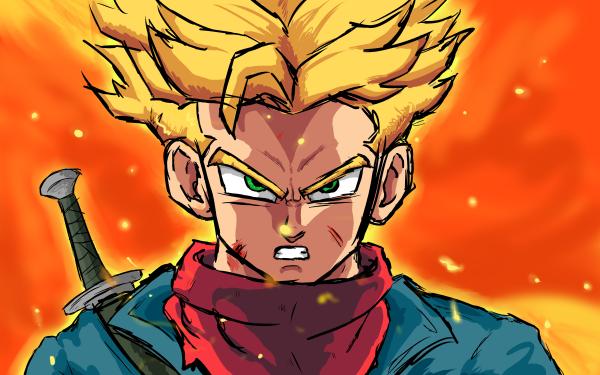 Anime Dragon Ball Super Dragon Ball Trunks SSJ Trunks HD Wallpaper | Background Image