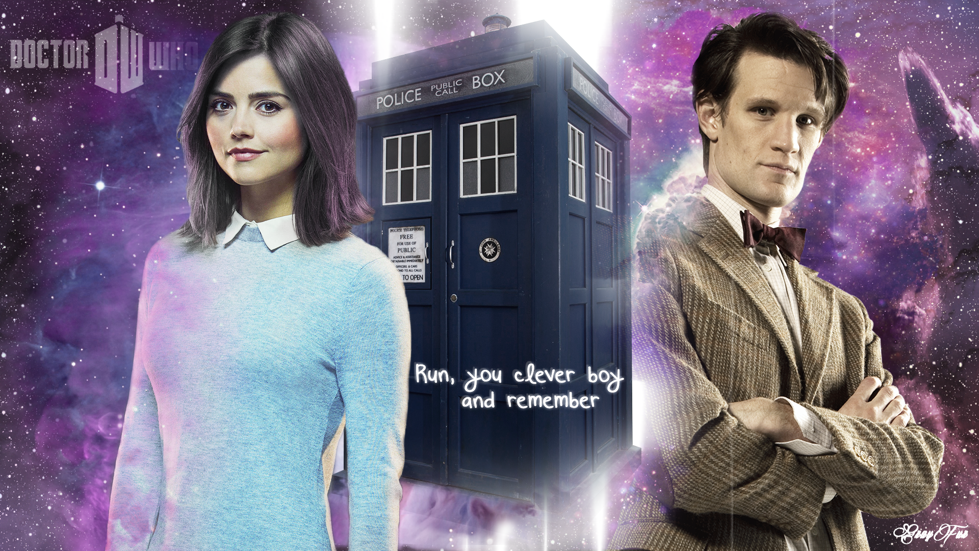 Doctor Who Wallpaper Full Hd With Clara Hd Wallpaper