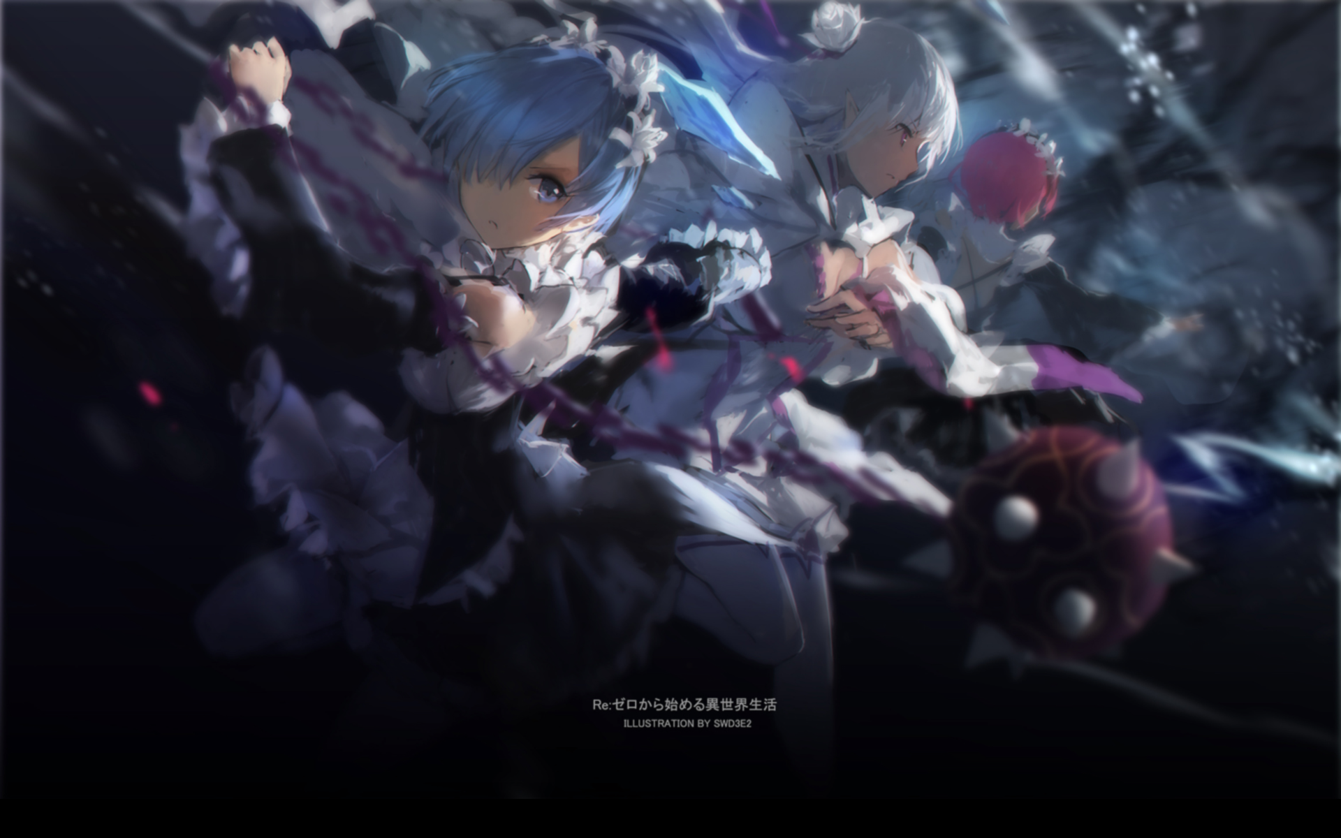 Anime Wallpapers Re:Zero kara Hajimeru Isekai Seikatsu HD 4K Download For Mobile iPhone & PC