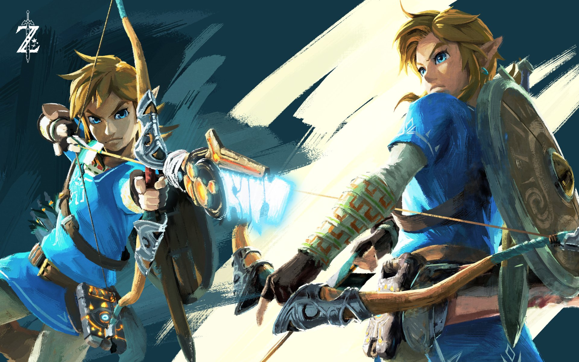 Video Game - The Legend of Zelda: Breath of the Wild  Link The Legend of Zelda Wallpaper