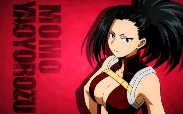 Anime My Hero Academia Momo Yaoyorozu HD Wallpaper | Background Image