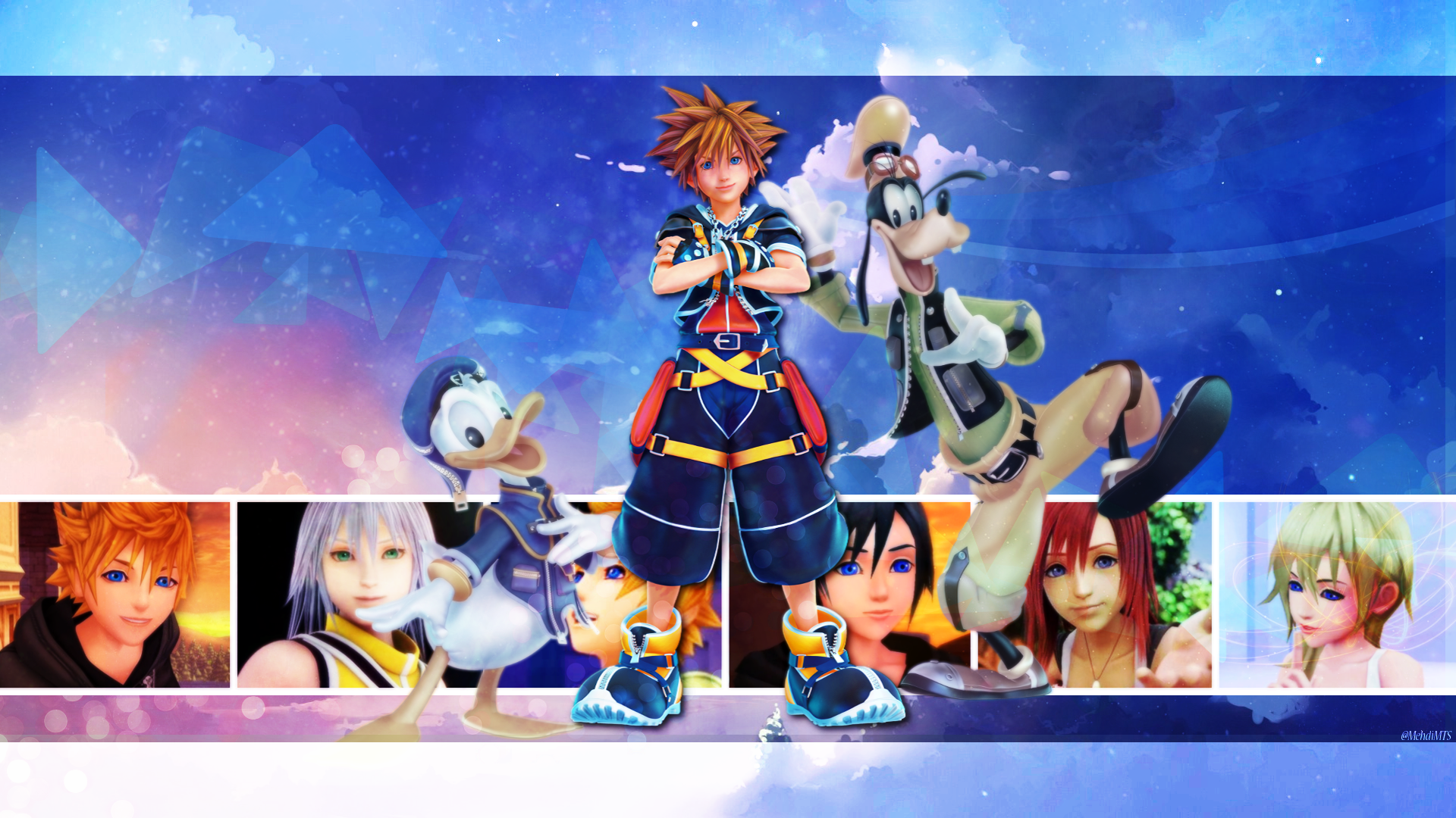 Kingdom Hearts 3 Hd Wallpaper Background Image 1920x1080 Id