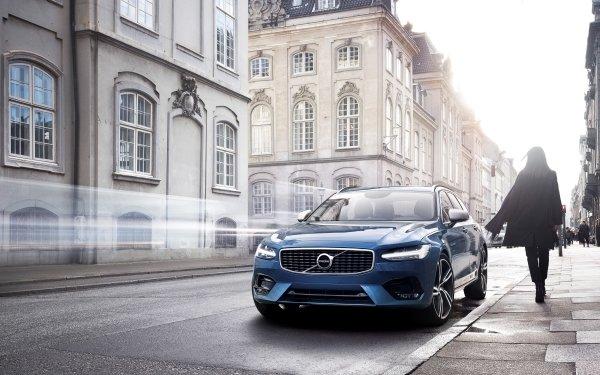 Vehicles Volvo S90 Volvo Car Luxury Car Blue Car HD Wallpaper | Background Image