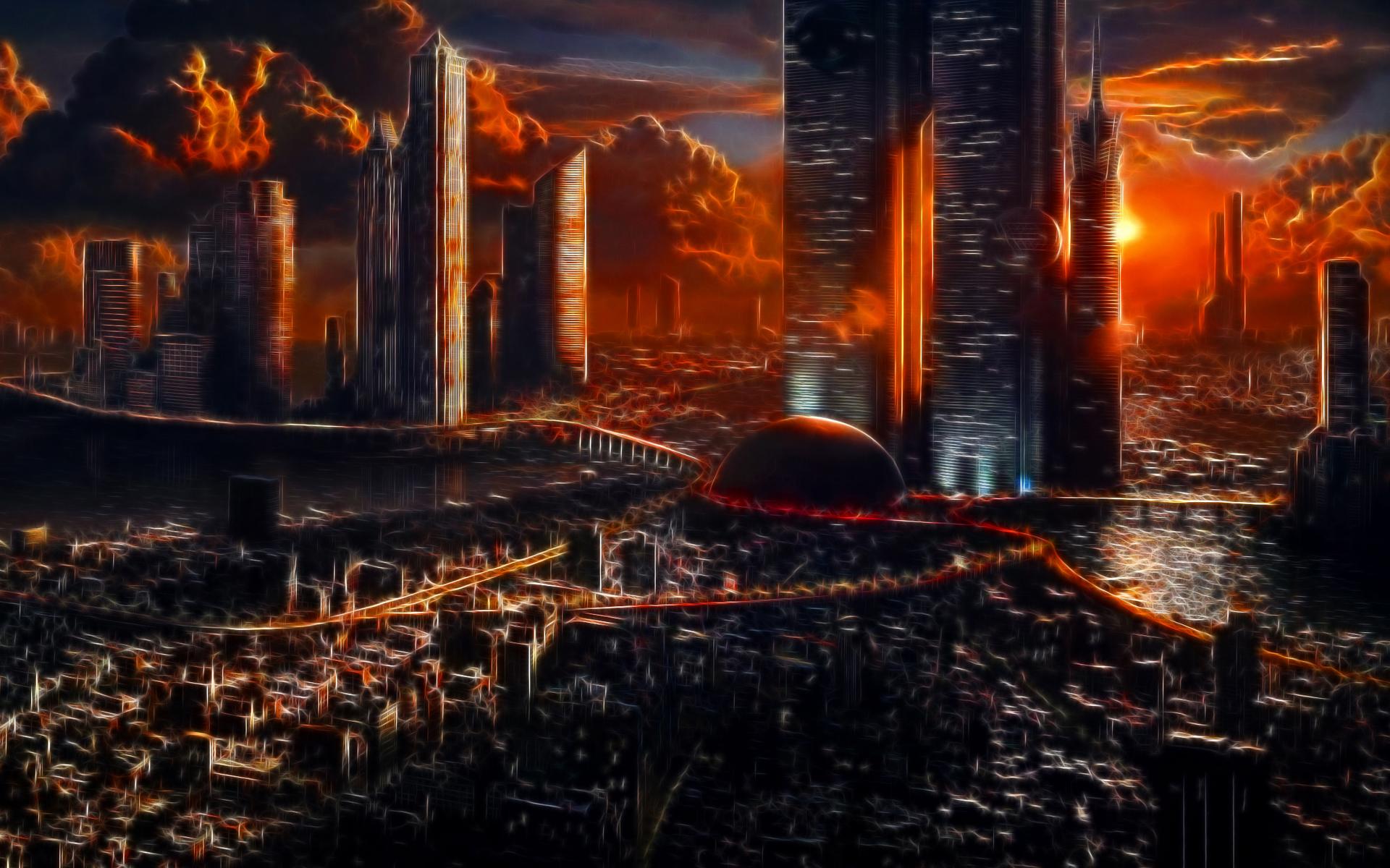 Apocalypse City Fire Apocalyptic City Full ...