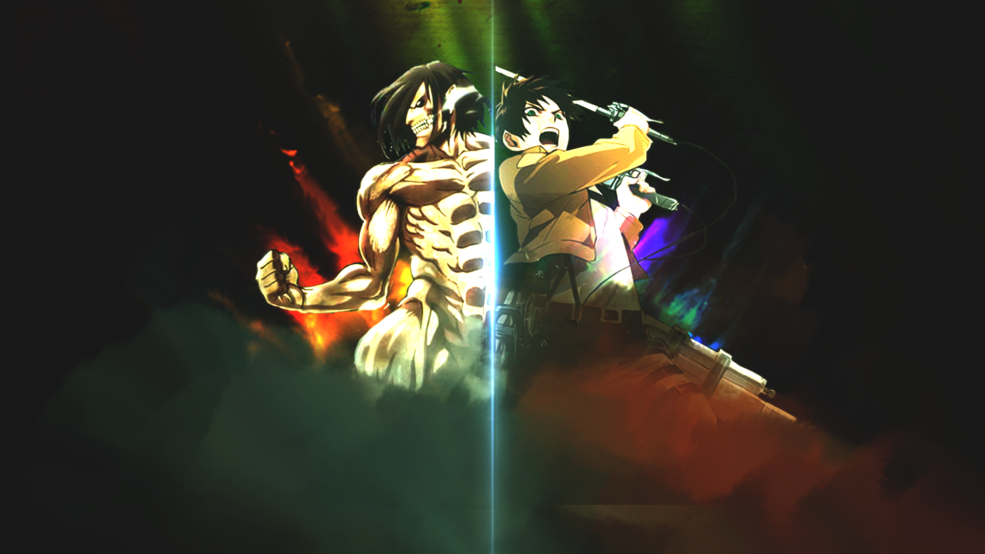 Attack On Titan Eren Jaeger Hd Wallpaper Background Image 1920x1080 Id 717079 Wallpaper Abyss