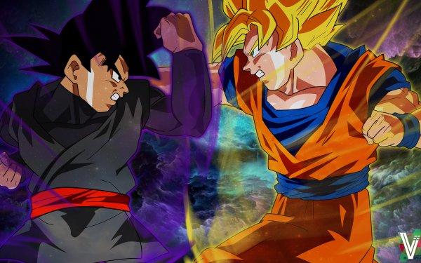 Anime Dragon Ball Super Dragon Ball Black Black Goku Goku Fond d'écran HD | Arrière-Plan