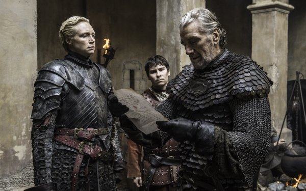 TV Show Game Of Thrones Clive Russel Brynden Tully Gwendoline Christie Brienne Of Tarth Podrick Payne Daniel Portman HD Wallpaper | Background Image