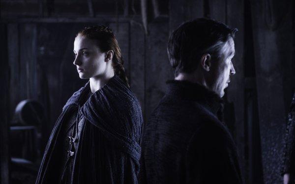 TV Show Game Of Thrones Aidan Gillen Sophie Turner Sansa Stark Petyr Baelish HD Wallpaper | Background Image