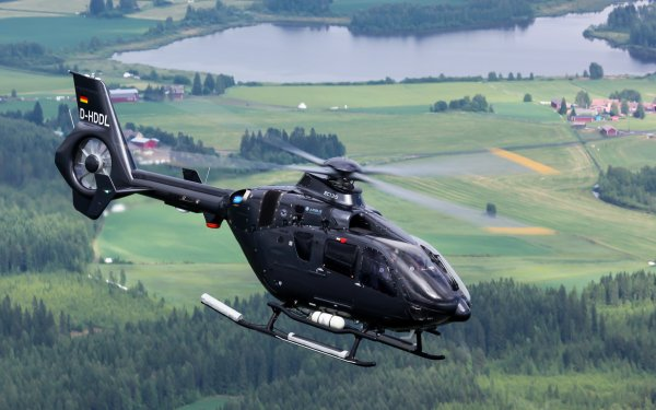 Vehicles eurocopter EC135 Aircraft Helicopters Helicopter HD Wallpaper   Background Image